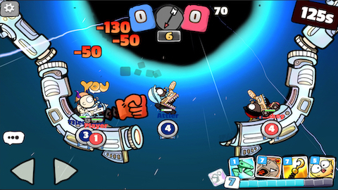 Milk War Screenshot 2 - Battle Space