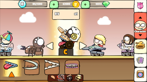 Milk War Screenshot 3 - Characters