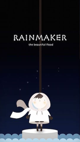 Rainmaker | The Beautiful Flood - Minimalist puzzle solving game on iOS and Android