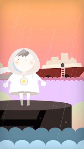 Rainmaker Screenshot 3 - Cutscene Sea And Boat